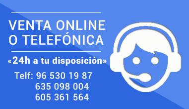 Venta online o telefónica